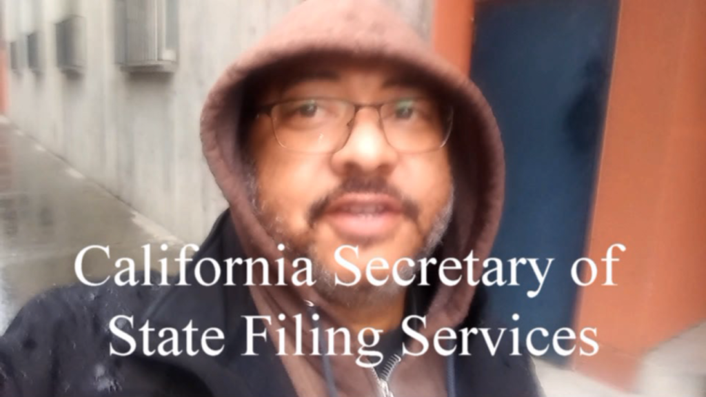 california secretary of state filing services
