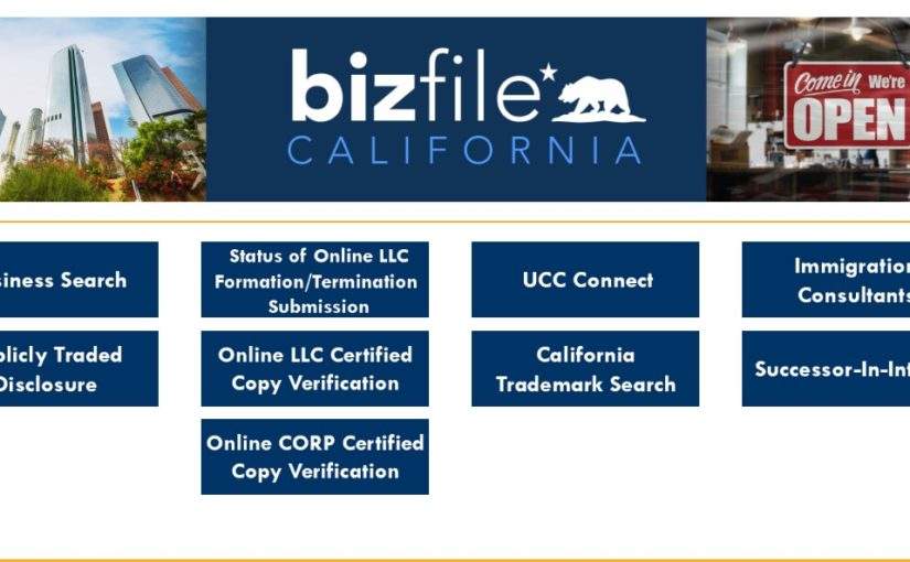 How to Upgrade Your Online llcbizfile.sos.ca.gov Filing